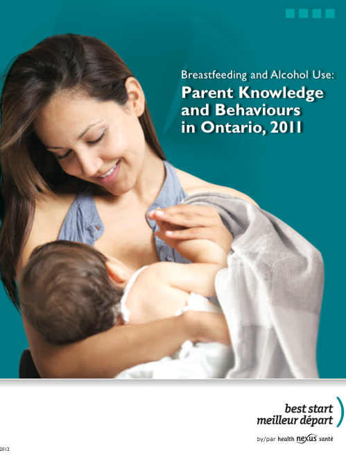 Breast feeding and alcohol use