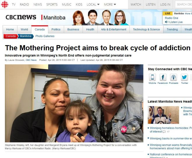 cbc mothering project
